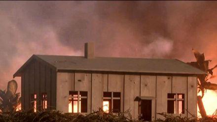 Спасенный дом посреди ада: почему пожар обошел здание, которое должно было сгореть