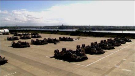 """Корабель-амфібія """"Тайфун"""" — останнє слово у військовій техніці"""