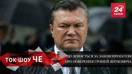 Какие схемы скрыты в законопроекте о возвращении денег Януковчиа