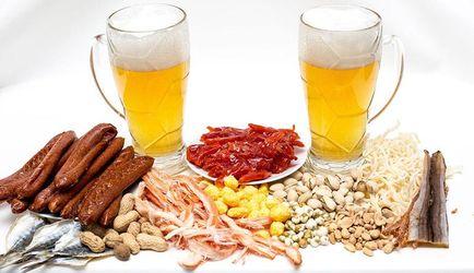 Які закуски найкраще смакують до пива