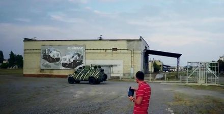 Як виглядає український безпілотний бронеавтомобіль