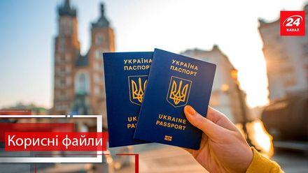 Корисні файли. Які документи будуть потрібні українцям для подорожей Європою без віз