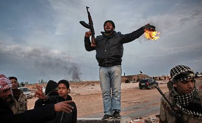 Безумный мир. Начало мира в Ливии. Давление на исламские народы в Китае