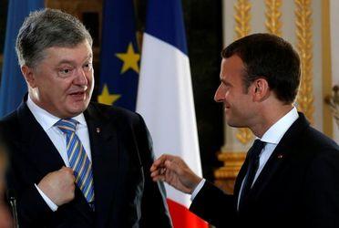 """Как Макрон Россию """"попустил"""", или Встреча Порошенко с президентом Франции прошла успешно"""