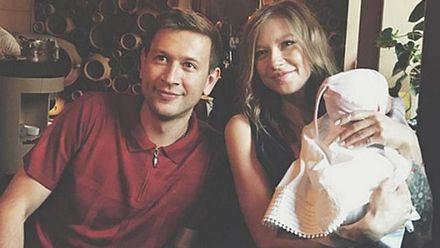 Дмитрий Ступка покрестил дочь: фото