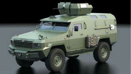 Український бронеавтомобіль для тактичних завдань