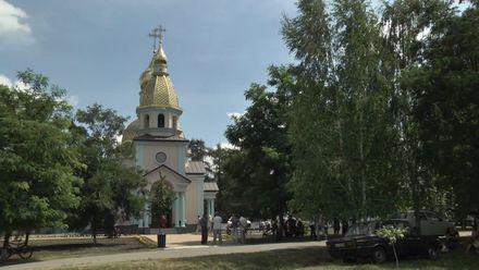 У селі Розаліївка побудували храм