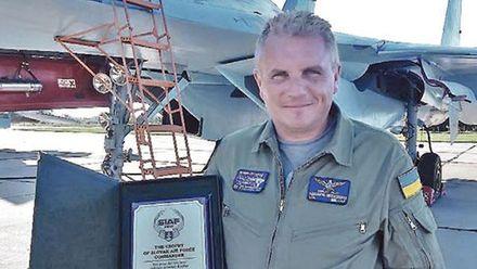 Олександр Оксанченко – кращий льотчик-винищувач України, яким захоплюються у світі