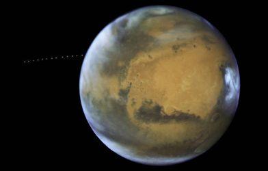 В NASA показали познавательное видео про Марс