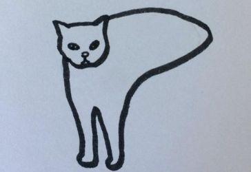 Художник создает забавные рисунки котов, которые кажутся слишком реалистичными