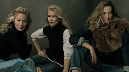 Легендарные модели снялись в фотосессии Энни Лейбовиц для Vogue