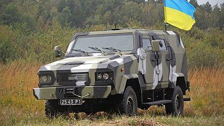 """""""Козак-2"""" – єдиний український бронеавтомобіль, що пройшов процедуру дослідного підриву"""