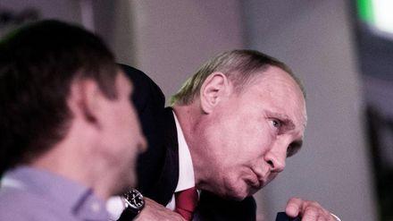 Відомий карикатурист дотепно висміяв політику Путіна