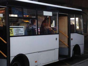 В Киеве маршрутка поражает странным аксессуаром: фото, видео