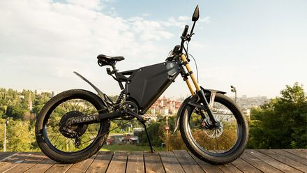 Delfast Ebike – українська компанія, що розробила надпотужний електровелосипед