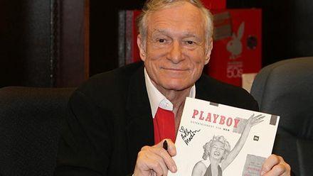 Х'ю Хефнер прикрасив нову обкладинку Playboy: фото