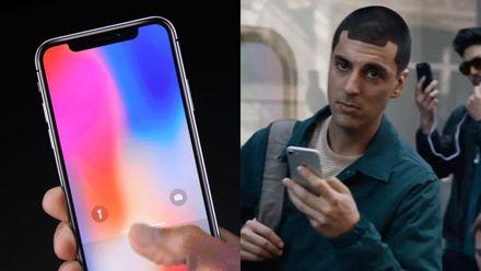 Samsung дотепно висміяв новенький iPhone X в рекламі: відео