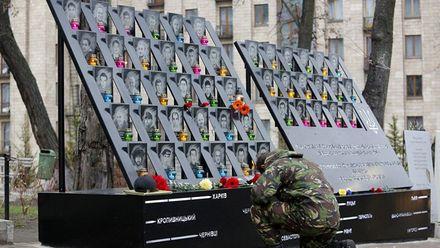 В Києві розпочались пам'ятні заходи з вшанування Героїв Небесної Сотні