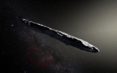 Астрономы впервые обнаружили астероид  прилетевший из-за пределов Солнечной системы