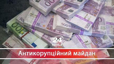 """Как Украина """"пожертвовала"""" 600 миллионами евро за безнаказанность коррупционеров"""