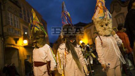 В Іспанії пройшов традиційний парад масок: захопливе відео
