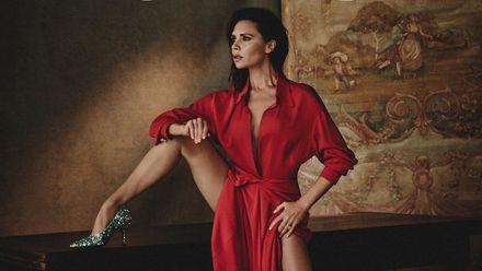 Струнка Вікторія Бекхем знялась в ефектному образі для Vogue Spain: фото