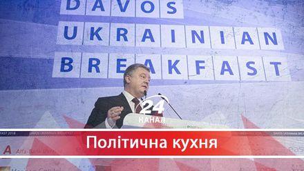 Що пообіцяв Петро Порошенко керівництву МВФ на економічному форумі у Давосі