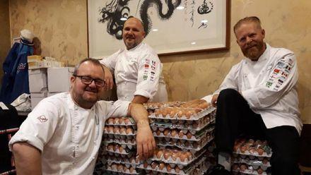 Норвезьким кухарям олімпійської збірної помилково прийшло 15 тисяч яєць через Google Translate: фото