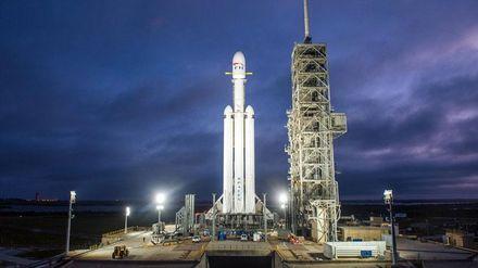 Запуск ракети Falcon Heavy від SpaceX: відео онлайн-трансляції