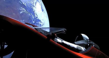 Новая эра космических технологий: 8 плюсов от запуска в космос ракеты Falcon Heavy и машины Tesla