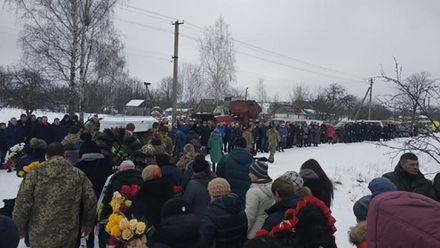 В Житомирской области попрощались с девушкой-медиком, которая погибла в зоне АТО