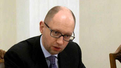 Яценюк протестировал горячую линию правительства