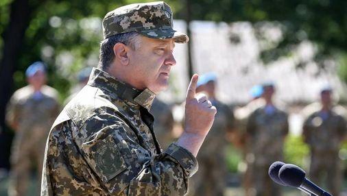 Порошенко назвав умову проведення виборів на звільненій частині Донбасу