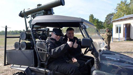 Аваков показав нову забавку для армії — заміну Javelin