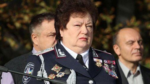 """Організаторка """"антимайдану"""" прийняла присягу в поліції"""
