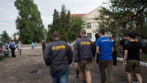 """Село на Одещині побоюється помсти ромів, приїхав """"Азов"""""""