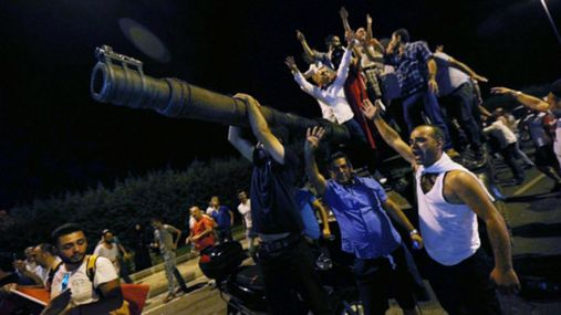 """В Турции будут """"маркировать"""" подозреваемых в государственном перевороте"""