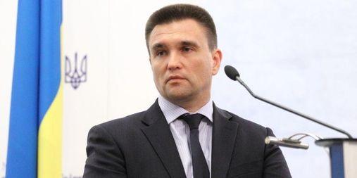 Клімкін назвав два компоненти, які необхідні для введення миротворців на Донбасі