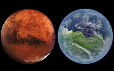 Приваблива колонізація: на екваторі Марсу виявили величезні поклади льоду