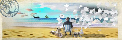 Карикатурист дотепно показав, як ховають гроші олігархи в Росії