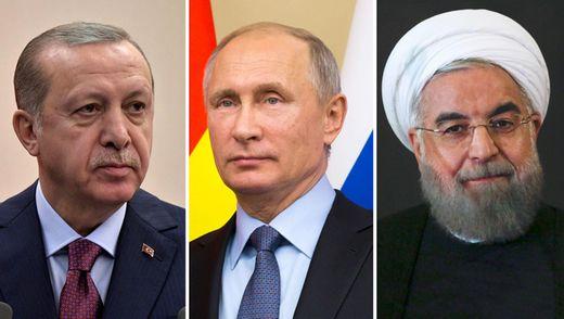 """ЗМІ про саміт в Сочі: три """"хрещені батьки"""" Сирії зберуться, щоб """"розпиляти"""" регіон"""