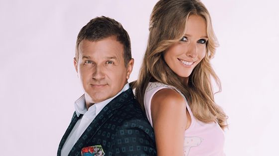 Сьогодні відома українська телеведуча Катя Осадча святкує своє 34-річчя.  Разом зі своїм чоловіком ae62f2f8f1537
