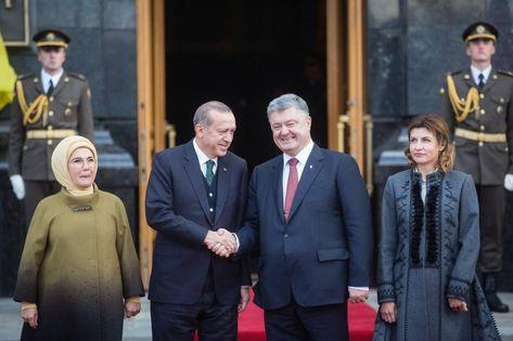 Ердоган прибув до Києва і зустрівся з Порошенком (9.58 26) 52810fa006be4