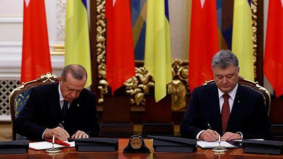 Сонный конфуз случился с Эрдоганом в Киеве