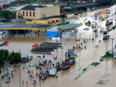 Бразилія була неготова до зливи