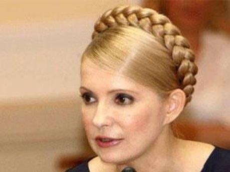 Юлія Тимошенко, лідер БЮТ