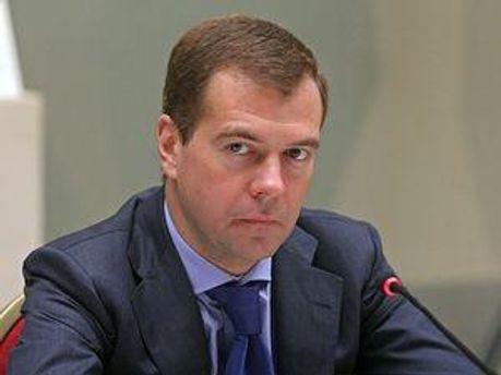 Президент Росії Дмитро Мєдвєдєв