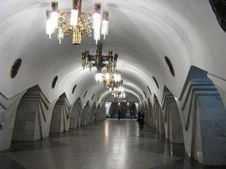 Харківський метрополітен, станція Пушкінська