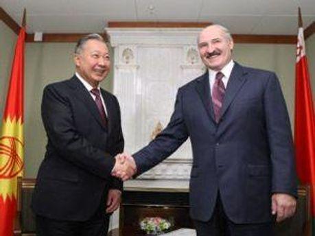 К. Бакыэв та О. Лукашенко