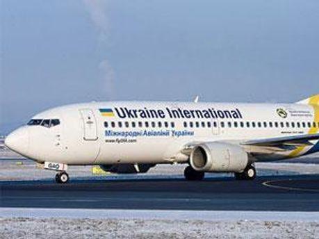 Літак Міжнародних Авіаліній України